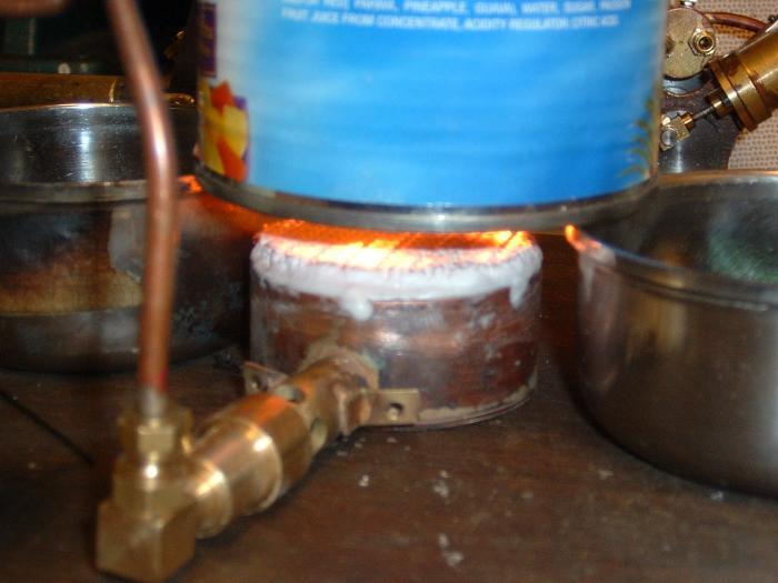 """2"""" Ceramic burner lit.jpg"""