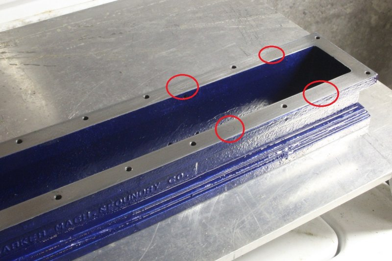 Barker 15a - base holes plugged painted.JPG