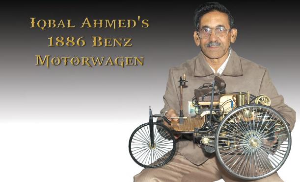 Iqbal Ahmed's 1886 Benz Morotwagen headline picture.jpg
