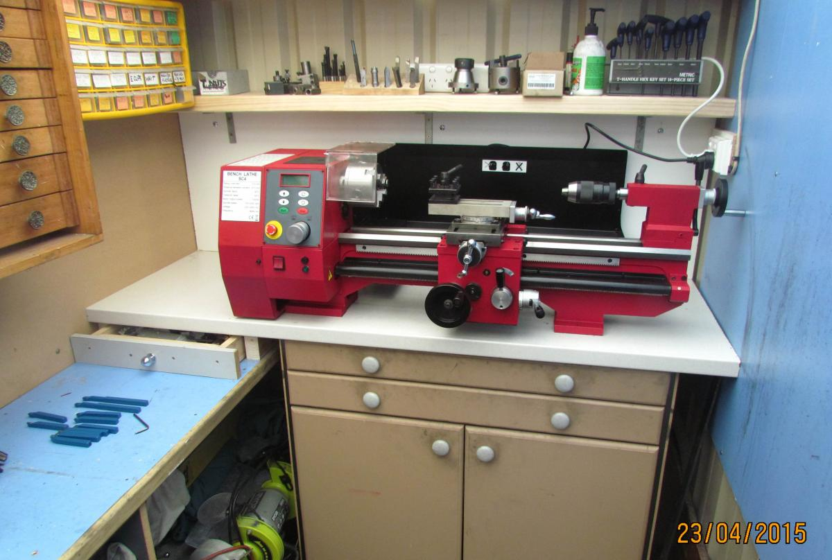 BAZMAK-DIARY of a NEW SIEG SC4 LATHE | Page 2 | Home Model