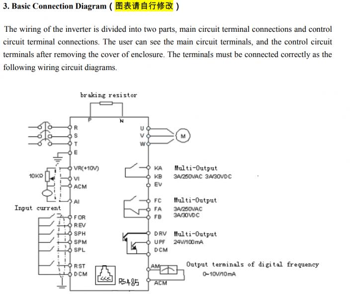 VFD Wiring | Home Model Engine Machinist on